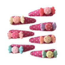 Load image into Gallery viewer, Pop Cutie Candy Hair Clips X 12 Pairs Wholesale