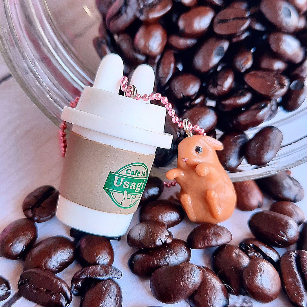 Ltd. Pop Cutie Coffee Bunny Necklaces - 6 pcs. Wholesale