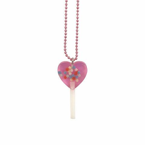 Pop Cutie Gacha Sprinkle Lollipop Necklaces