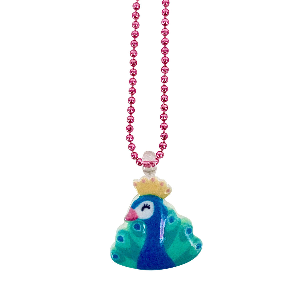 Pop Cutie Gacha Peacock Necklaces