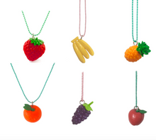 Load image into Gallery viewer, Pop Cutie X Iwako Fruit Necklaces