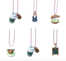 Load image into Gallery viewer, Ltd. Pop Cutie Coffee Bunny Necklaces - 6 pcs. Wholesale