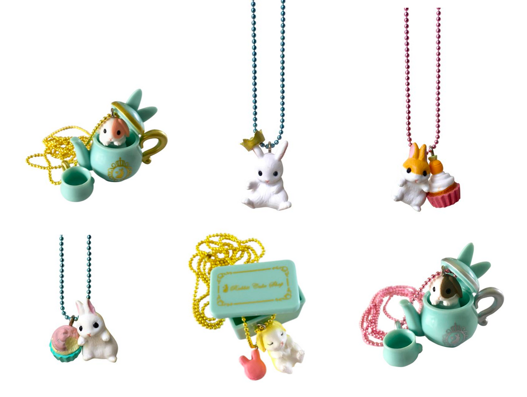 Ltd. Pop Cutie Rabbit Cake Shop Necklaces - 6 pcs. Wholesale