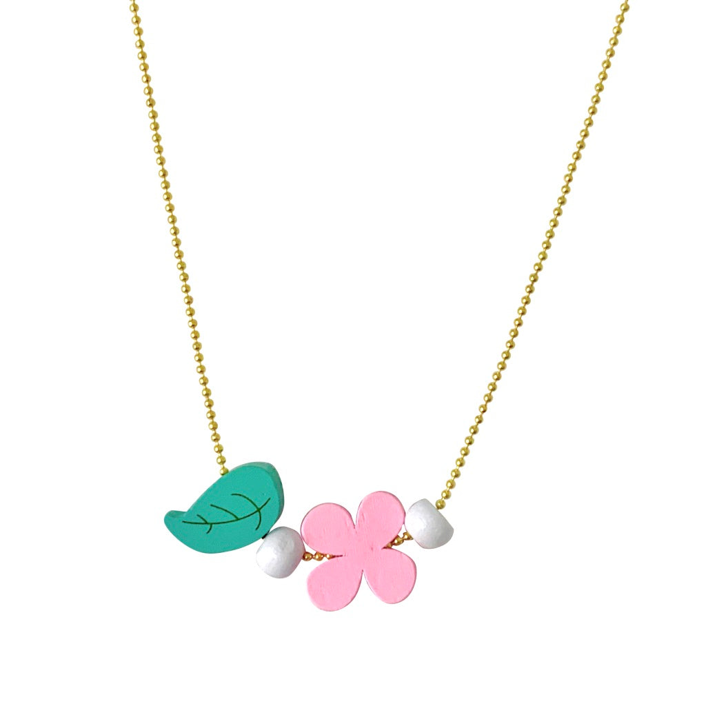 Pop Cutie ECO Flower Necklaces - 6 pcs. Wholesale