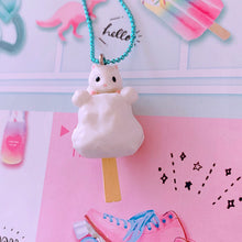 Load image into Gallery viewer, Ltd. Pop Cutie Snack Hamster Necklaces - 6 pcs. Wholesale