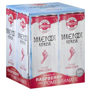 Barefoot Refresh Pink Moscato 4 Pack