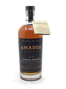 Amador Double Barrel Whiskey 750