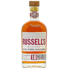 Load image into Gallery viewer, Russells Reserve 10 Year Whiskey 750