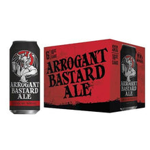 Load image into Gallery viewer, Stone Arrogant Bastard Ale 6Pk Cn