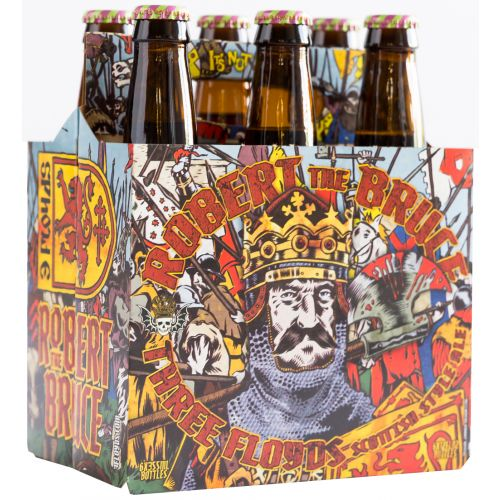 3 Floyds Robert The Bruce Scotch Ale 6 Pack Bottle