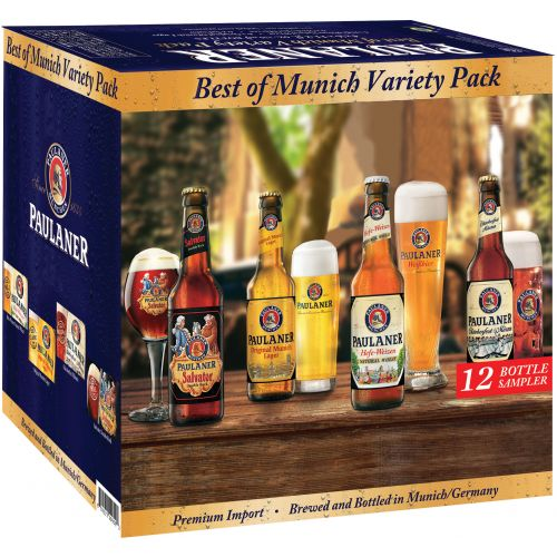 Paulaner Best of Munich Variety 12 Pack Bottle