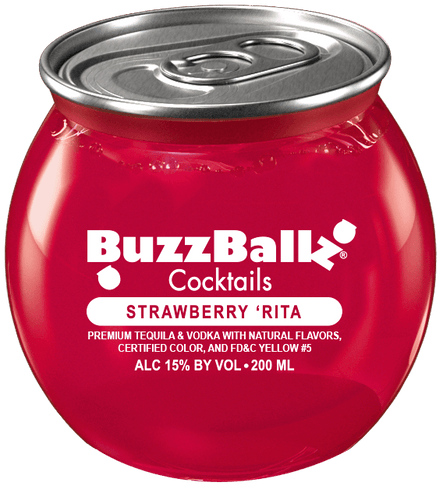 BuzzBallz Strawberry Rita