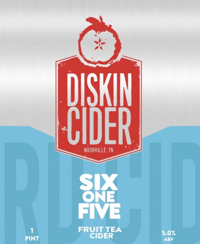 Diskin Cider Six One Five 4Pk
