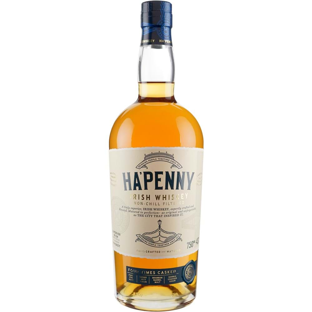 Ha'Penny Irish Whiskey 750ml