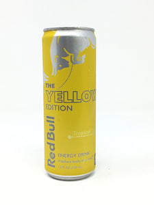 Red Bull Yellow 12Oz Single