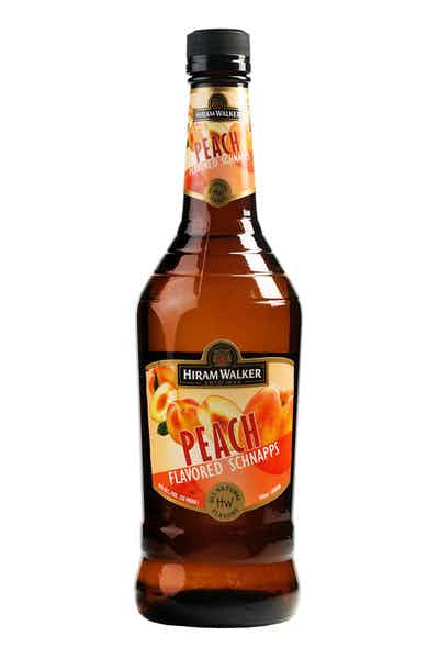 Hiram Walker Peach Brandy 60/ 750