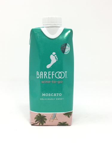 Barefoot Moscato Tetra Pack 500Ml