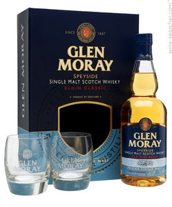 Glen Moray 12yr 750ml Gift Set