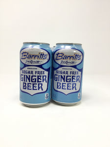Barritts Diet Ginger Beer 4Pk