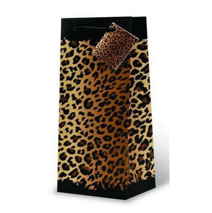 WRAP ART LEOPARD SPOTS GIFT BAG