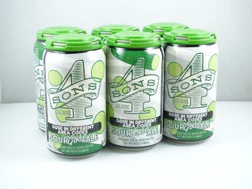 4 SONS GOSE IN DIFFERENT AREA CODES 6PK