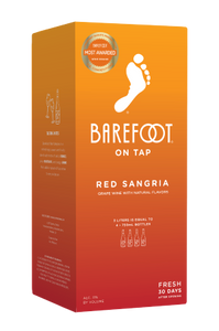 Barefoot Red Sangria 3L Box