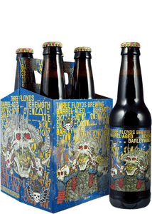 3 Floyds Barrel Aged Behemoth Barley Wine 4 Pack Bottle