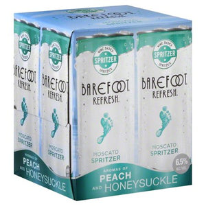 Barefoot Refresh Moscato 4 Pack