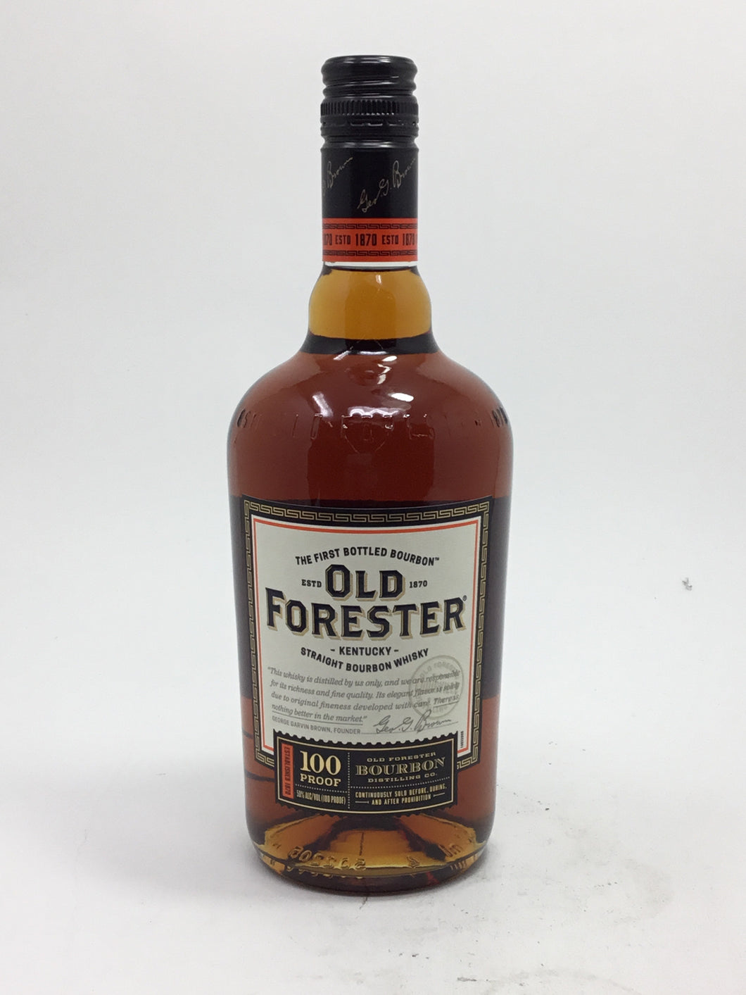 Old Forester 100Pf 750Ml