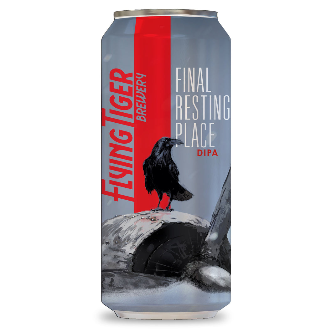 Flying Tiger Final Resting Place DIPA 4 Pack Can