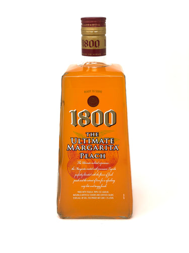 1800 Ultimate Margarita Peach 1.75L