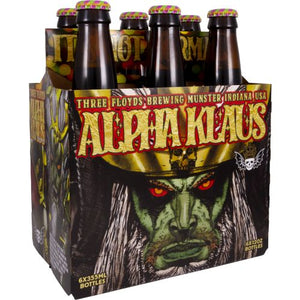 3 Floyds Alpha Klaus 6 Pack Bottle