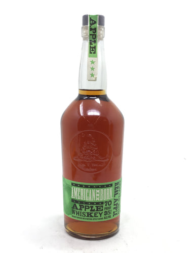 American Born Apple Whiskey 750