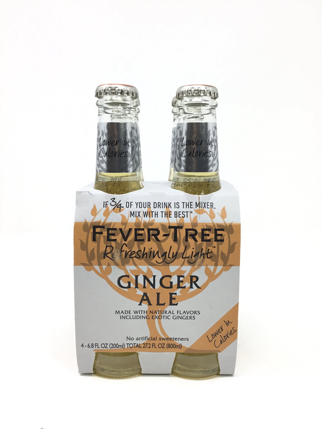 Fever Tree Ginger Ale 4 Pk