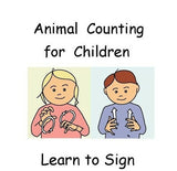 Let's Sign - Animal Counting Sample