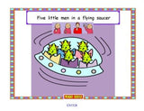 Let's Sign - 5 Little Men in a Flying Saucer
