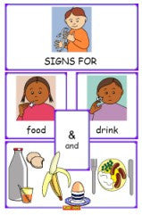 Let's Sign - Food and Drink Flashcards