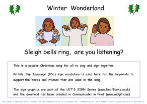 Let's Sign - Christmas Carols