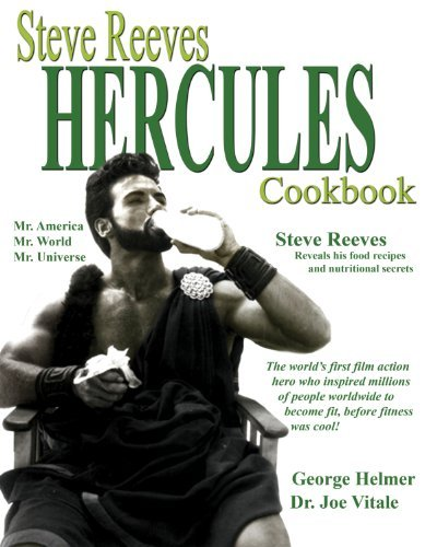 Picture of Steve Reeves Hercules Cookbook
