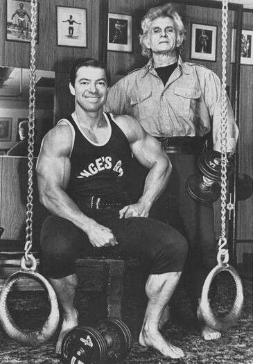 Larry Scott and Vince Gironda