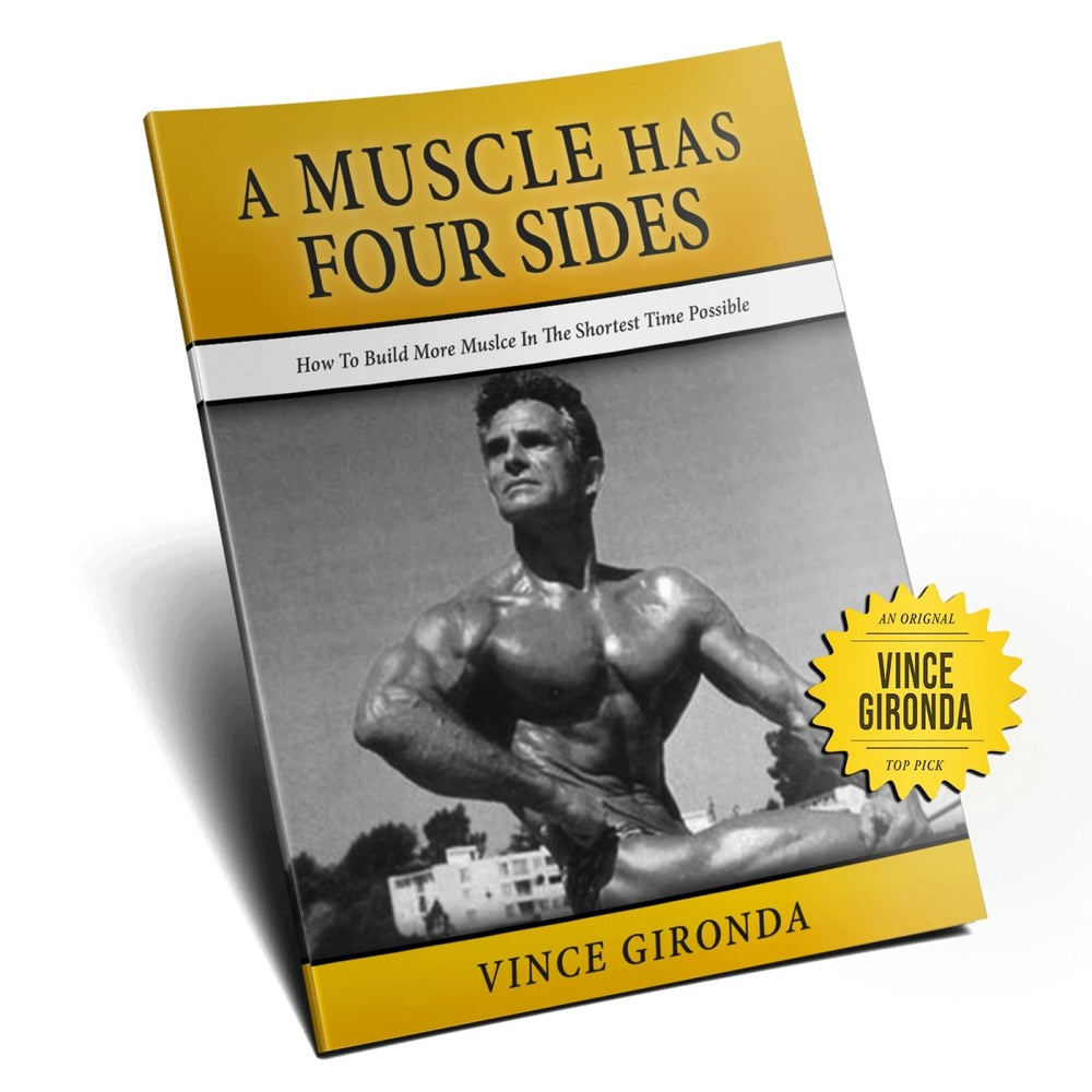 A Muscle Has Four Sides by Vince Gironda - NSP Nutrition