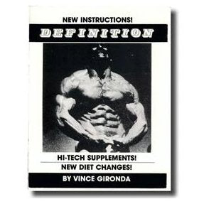 Definition: High Tech Supplements! New Diet Changes  by Vince Gironda - NSP Nutrition
