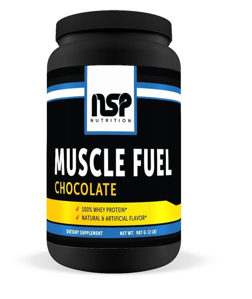 Muscle Fuel - Chocolate - Whey Protein - NSP Nutrition