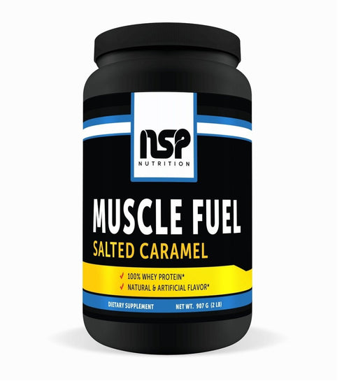 Muscle Fuel - Salted Caramel - Whey Protein - NSP Nutrition