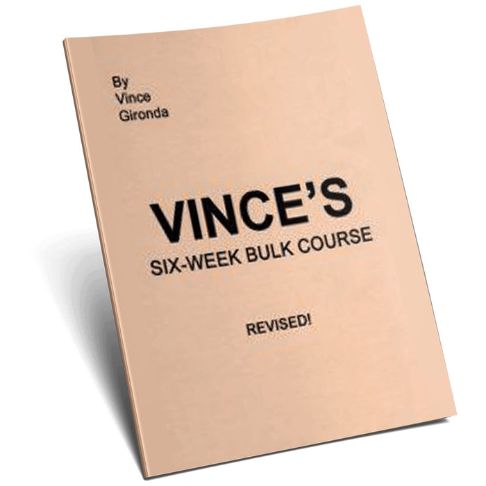 Vince's Six Week Bulk Course - NSP Nutrition
