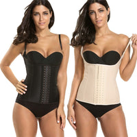 Waist Cincher Latex Vest IVORY