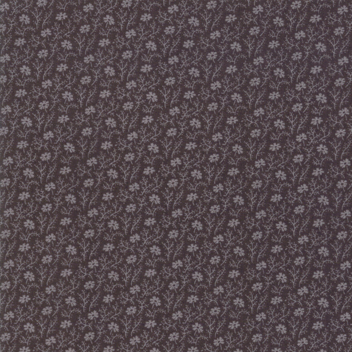 Tractor Oil Grey (1282-13) - Urban Farmhouse Gatherings by Primitive Gatherings from Moda - PRICE PER 1/2 YARD