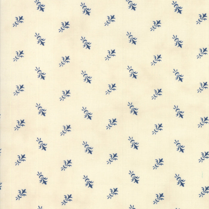 Indigo Gatherings (1296 11) by Primitive Gatherings from Moda - PRICE PER 1/2 YARD