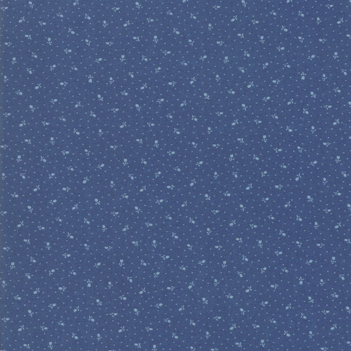 Indigo Gatherings (1297 19) by Primitive Gatherings from Moda - PRICE PER 1/2 YARD
