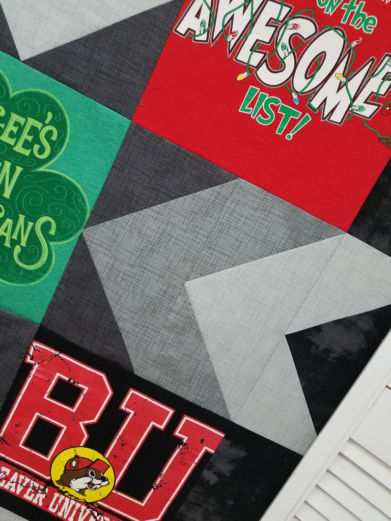 Made to Order T Shirt Quilt